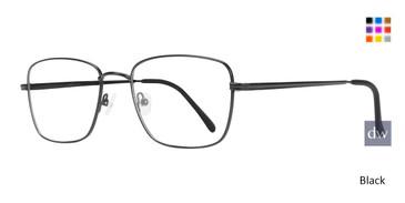 Black Eight To Eighty Henry Eyeglasses.