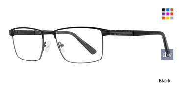 Black Eight To Eighty Lincoln Eyeglasses.