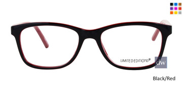 Black/Red Limited Edition 6TH AVE Eyeglasses