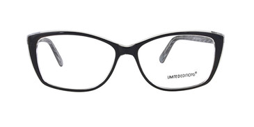 Black Limited Edition Lorena Eyeglasses
