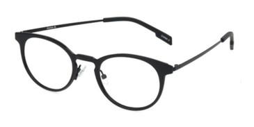 Black Reebok RV9501  Eyeglasses - Teenager