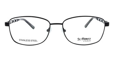 Black ST. Moritz BRANDI Eyeglasses.