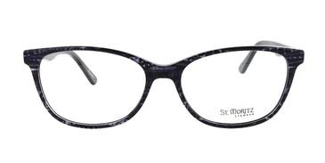 Black ST. Moritz EVERLY Eyeglasses