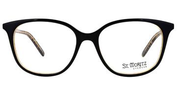 Black ST. Moritz ISABELLE Eyeglasses