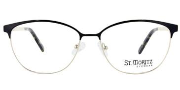 Black ST. Moritz JOSLYN Eyeglasses