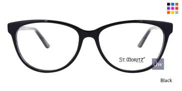 Black ST. Moritz MEGAN Eyeglasses