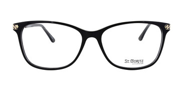 Black ST. Moritz SHEENA Eyeglasses