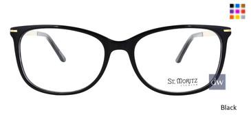 Black ST. Moritz ZOE Eyeglasses