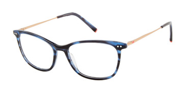Blue Tortoise Humphrey's 581060 Eyeglasses - Teenager.