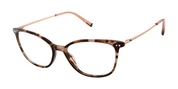 Brown Tortoise Humphrey's 581071 Eyeglasses.