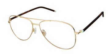 Gold Humphrey's 582263 Eyeglasses.
