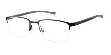 Black Titan Flex 820783 Eyeglasses.