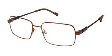 Brown Titan Flex 827038 Eyeglasses.