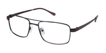 Brown Titan Flex M947 Eyeglasses.