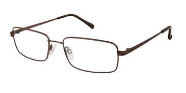Brown Titan Flex M979 Eyeglasses.