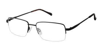 Black Titan Flex M981 Eyeglasses.