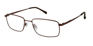 Dark Brown Titan Flex M983 Eyeglasses.