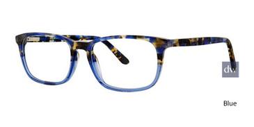 Blue Deja Vu 9017 Eyeglasses