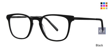 Black Deja Vu 9015 Eyeglasses - Teenager