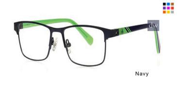 Navy Body Glove BB177 Eyeglasses