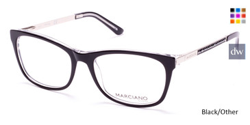Black/Other MARCIANO GM0324 Eyeglasses.