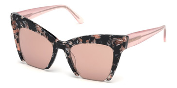 Havana/Other/Bordeaux Mirror Marciano GM0785 Sunglasses.