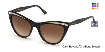 Dark Havana/Gradient Brown MARCIANO GM0793 Sunglasses.