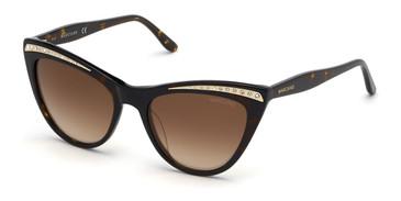 Dark Havana/Gradient Brown Marciano GM0793 Sunglasses.