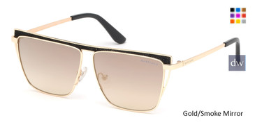Gold/Smoke Mirror MARCIANO GM0797 Sunglasses.
