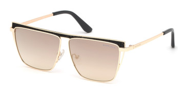 Gold/Smoke Mirror MARCIANO GM0797 Sunglasses.