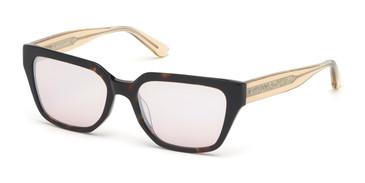 Dark Havana/Gradient Brown MARCIANO GM0799 Sunglasses.