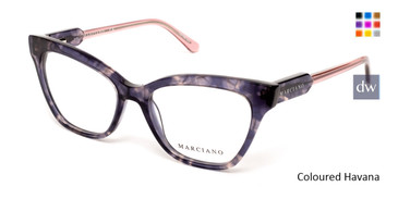 Coloured Havana Marciano GM0331 Eyeglasses.