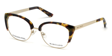 Blonde Havana Marciano GM0334 Eyeglasses.