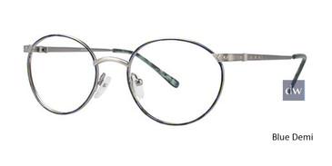Blue Demi Elan 9158 Eyeglasses - Teenager