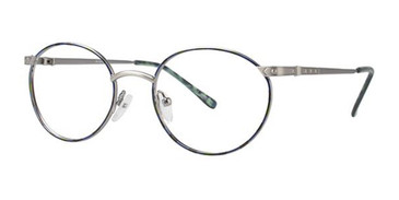 Blue Demi Elan 9158 Eyeglasses.