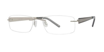 Silver Wired RLS04 Eyeglasses