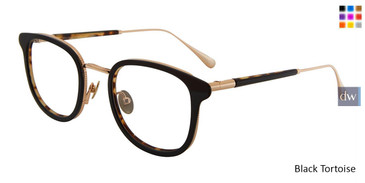 Black Tortoise John Varvatos V410 Eyeglasses - Teenager