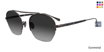 Gunmetal John Varvatos V534 Sunglasses
