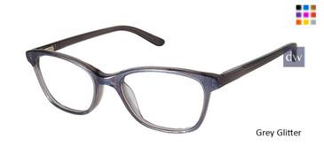 Grey Glitter Superflex Kids SFK-217 Eyeglasses