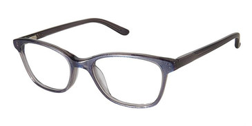 Grey Glitter Superflex Kids SFK-217 Eyeglasses.