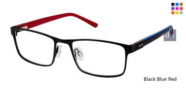 Black Blue Red Superflex Kids SFK-216 Eyeglasses