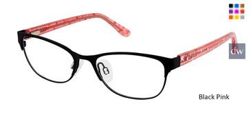 Black Pink Superflex Kids SFK-213 Eyeglasses