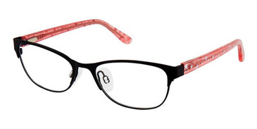 Black Pink Superflex Kids SFK-213 Eyeglasses.