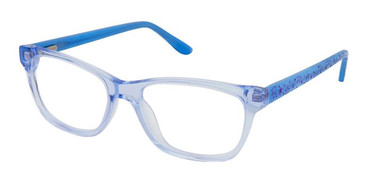 Blue Superflex Kids SFK-212 Eyeglasses.