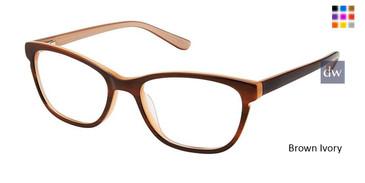 Brown Ivory Superflex Kids SFK-211 Eyeglasses