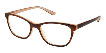 Brown Ivory Superflex Kids SFK-211 Eyeglasses.
