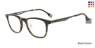 Black Green Converse K310 Eyeglasses - Teenager