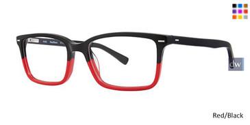 Red/Black Vavoom 8096 Eyeglasses