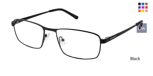 Black Superflex Titan SF-1116T Eyeglasses