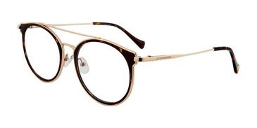 Tortoise Lucky Brand D117 Eyeglasses.